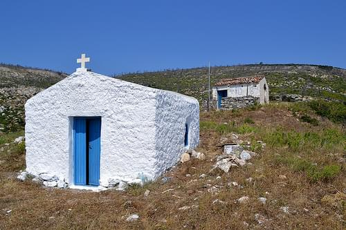 Naive architecture, Skyros, June, 2011