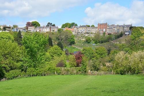 View on Richmond (Yorkshire, England 2016)