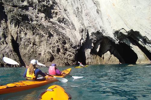 Next seacave - Seakayaking from Hahei, New Zealand