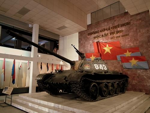 ARMY MUSEUM HANOI VIETNAM FEB 2012