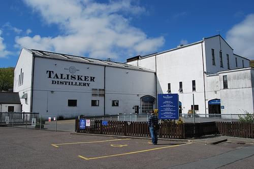 Skye Island - Talisker Distillery