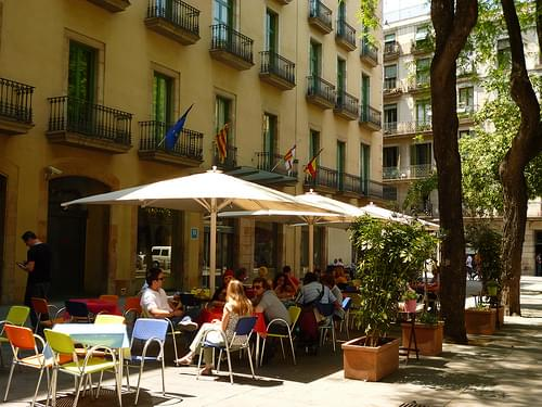 Terraces in Raval