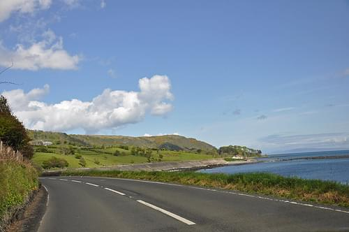 driving along the Causeway Coastal Route