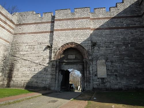 Gate in the Walls of Constantinople