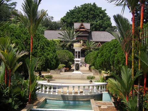 Palace Museum Gardens, Melaka
