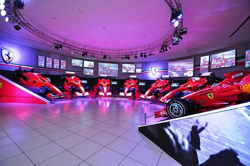 Ferrari F1 display