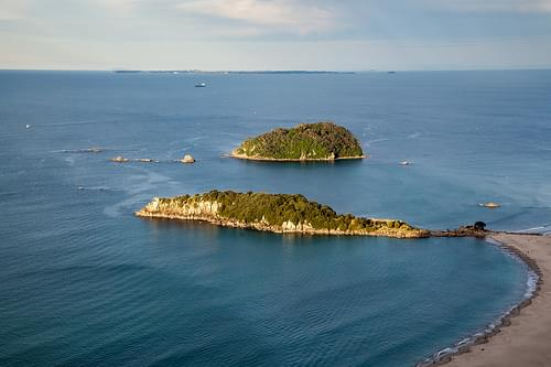 Moturiki Island and Motuotau Island