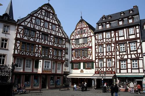 Bernkastel-Kues. La plaça major
