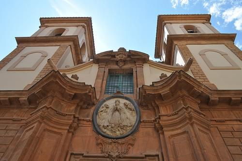 Detall de la façana (no recordo l'església)