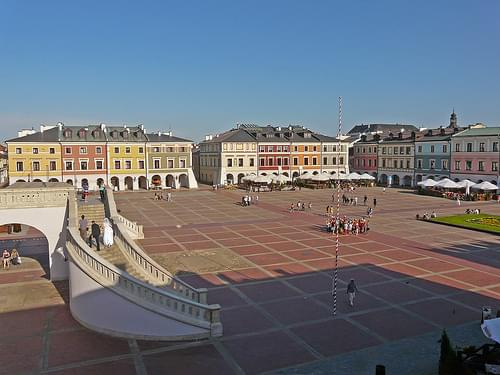 Great Market Square, Zamosc