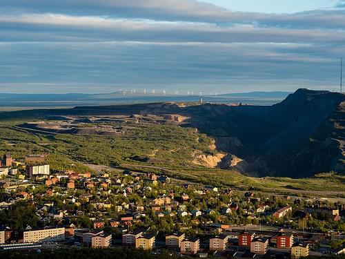 Luossavaara Mountain