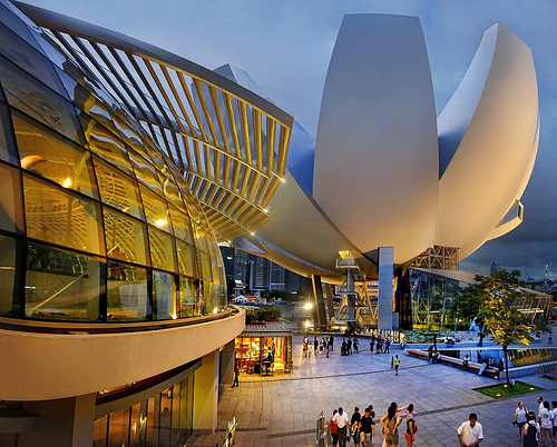 The Art Science Museum Singapore...