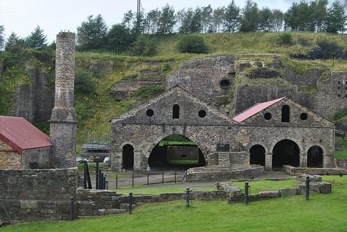 Blaenavon Ironworks Wales