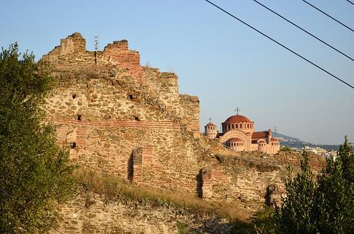 Thessaloniki: city walls