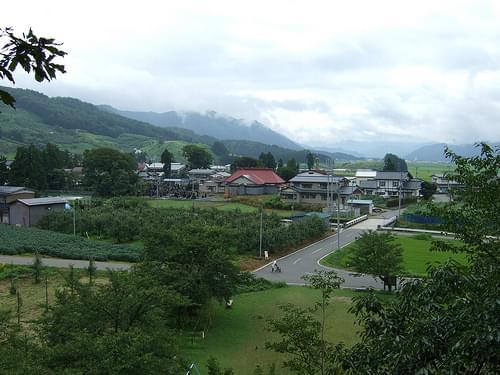 Small town, Akita