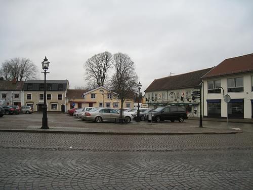 Skänninge main square