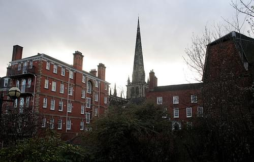 The Nursing Home and St Mary's Church, Shrewsbury