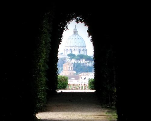 view of St. Peter's Basilica...