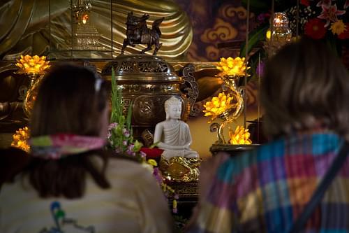 Truc Lam Temple, Dalat, Vietnam