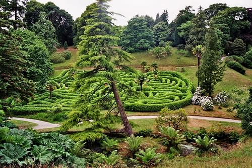 Angleterre, Cornwall, Glendurgan Garden