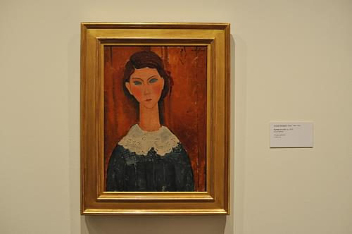 Mi Favorita, Amedeo Modigliani / Portrait of a Girl.