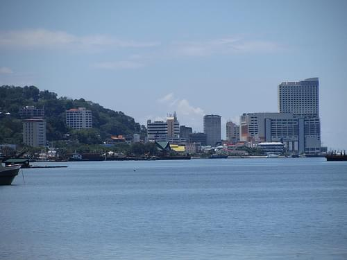 Sandakan Skyline From The East