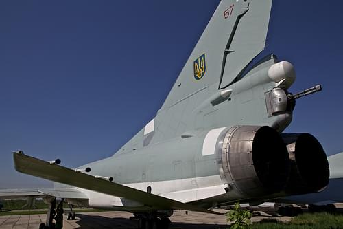 Tu-22m strategic bomber