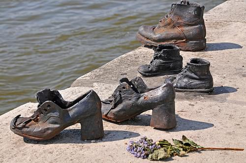Hungary-0036 - Shoes on the Danube