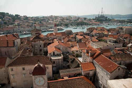 View from Trogir Cathedral tower