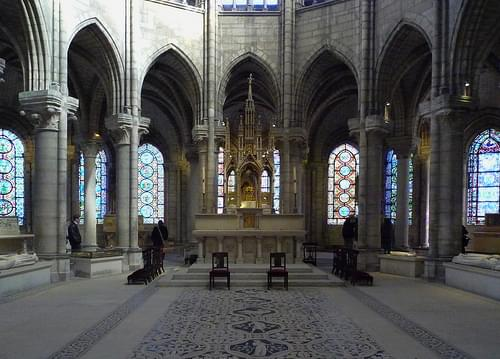 Choir, Basilica of St. Denis