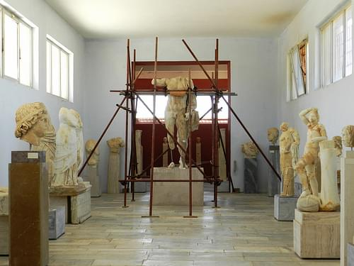 The Delos Archeological Museum