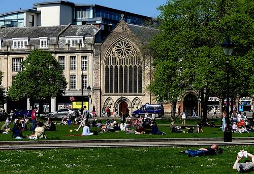 bristol colours chapel view