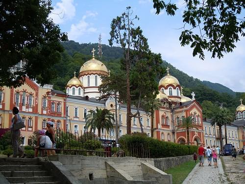 The monastery of New Athos, Abkhazia