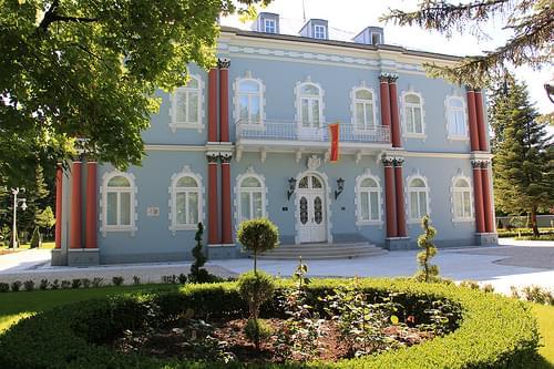 Cetinje - Plavi Dvorac [the blue palace], residence of President of Montenegro (06_2012)