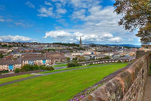 Derry Cityscape - HDR