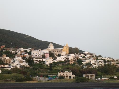 Stromboli town