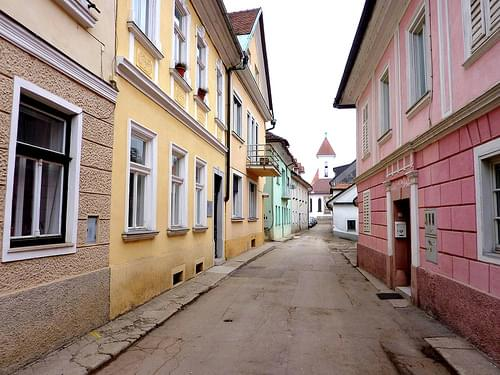 Little street of Kranj