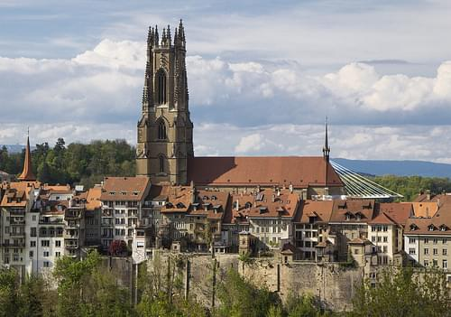 Fribourg's Cathedral