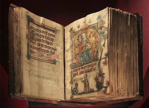 Berijmde getijden van de smarten van Maria, Utrecht, ca 1350
