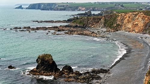 Ireland Copper Coast a UNESCO Global Geopark