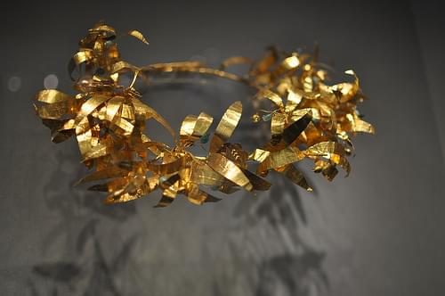 Hellenistic Golden Jewellery, Wreaths and diadems