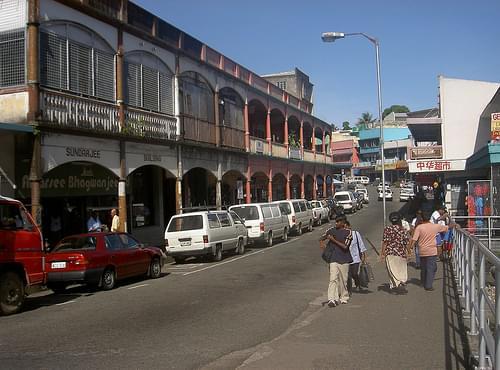 Suva captial of Fiji