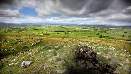 View from Loughcrew