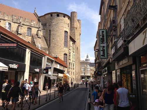 Cathedral Quarter Narbonne landscape