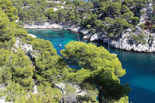 En Vau Creek, Cassis