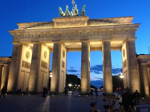 Brandenburg Gate in Berlin at Dusk | Classic Germany Escorted Tour