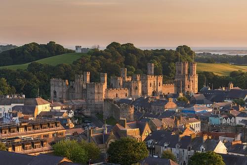 'Town Walls' - Caernarfon Castle