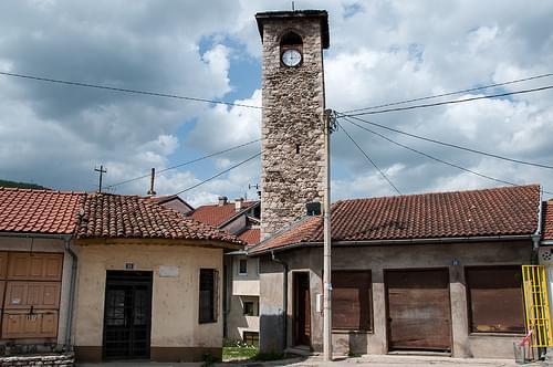 Der Stundturm in Foča