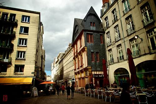 Historic Center, Nantes