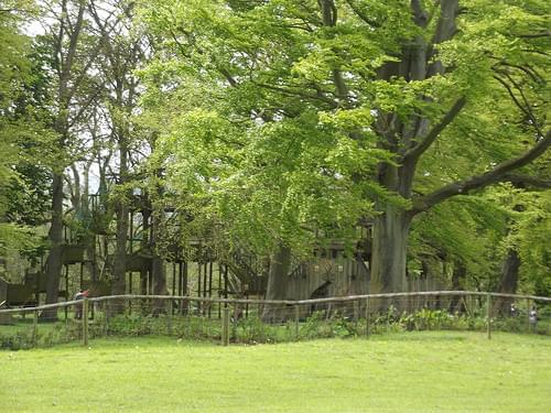 Sudeley Castle & Gardens - Playground and Picnic Area - adventure castle